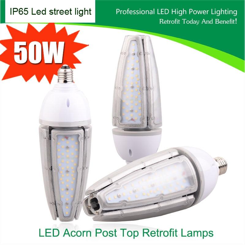 20pcs e39/e40/e27/e26 waterproof street led retrofit kits led bulb ip65 30w 40w 50w led highbay corn lamp outdoor maize bulb DHL