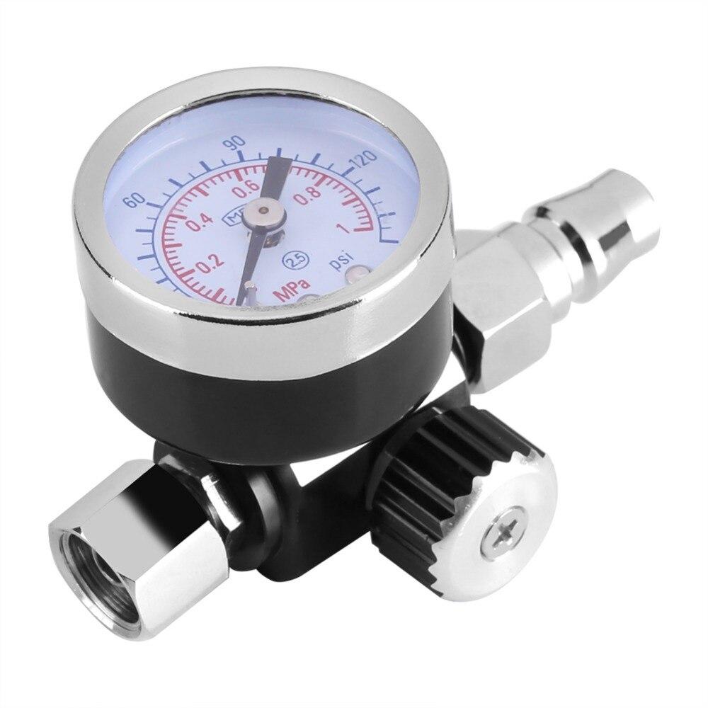 Pressure Gauge Spray Gun Regulator Air Pressure Control