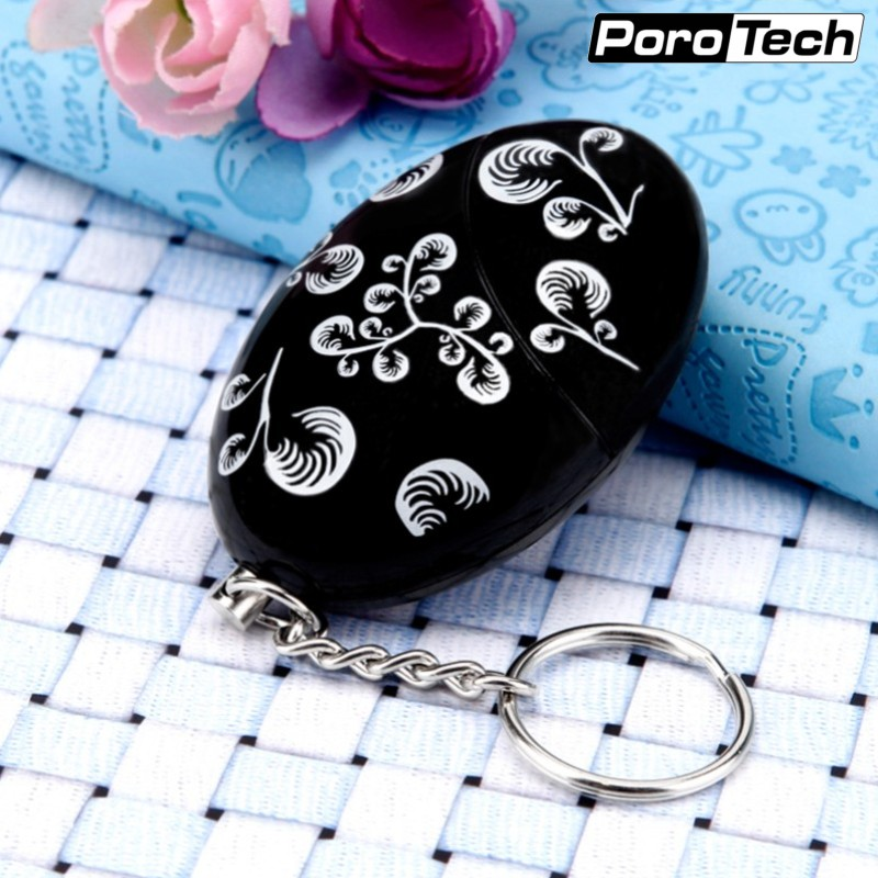 Wholesale Portable Self Defense Supplies 120dB Emergency Personal Alarm Keychain Anti-Attack Security Alarm For Women Kids Girls