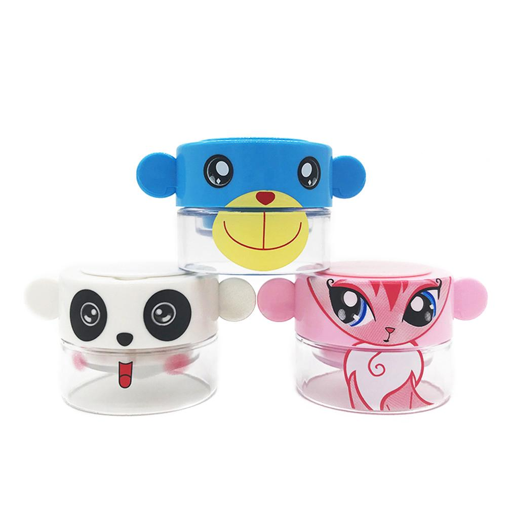 Cartoon Baby Tablet Pill Grinder Multifunctional Crusher Medicine Roller Sprayer Case Holder Rotate Grinder Child Care In Stock