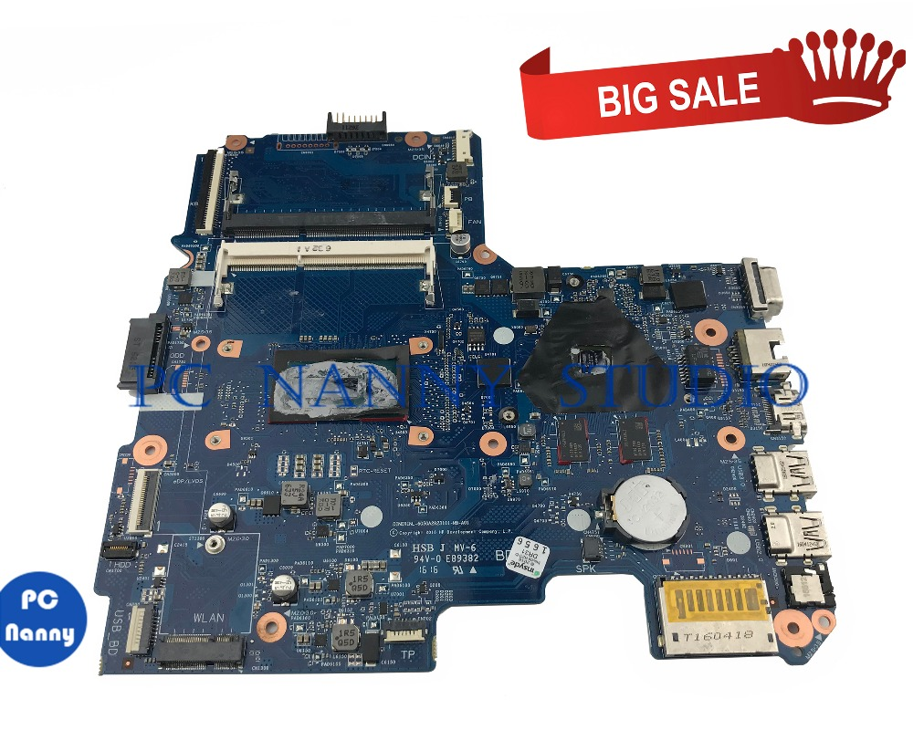 PC NANNY FOR HP 14-AM Laptop motherboard 6050A2823101-MB-A01 <font><b>SR27G</b></font> i5-5005U tested image