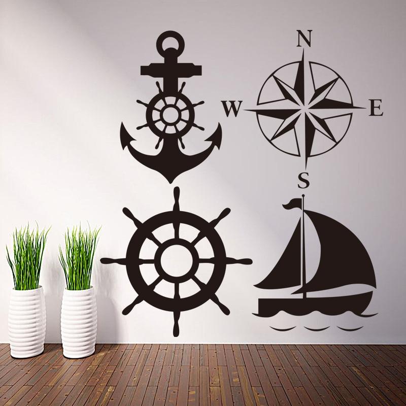 Art New Design Home Decoration Vinyl Cruise Ship Wall