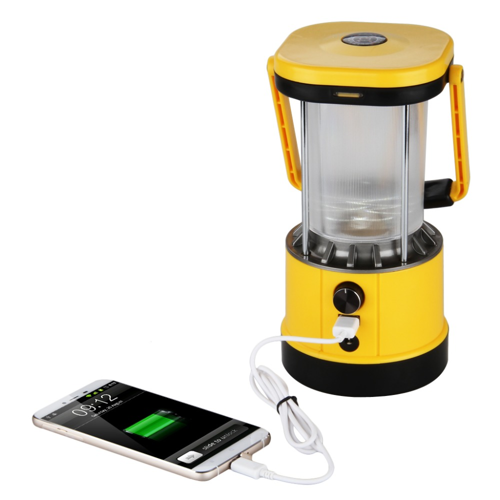 Excelvan Portable Lantern Solar Camping Led Lights 5v Usb