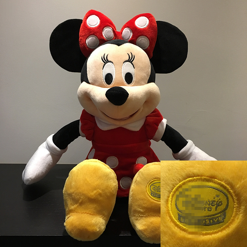 1piece 45cm=17inch Original Minnie Mouse red color doll,merican edition Minnie Mouse Stuffed animals plush Toys kids gift1piece 45cm=17inch Original Minnie Mouse red color doll,merican edition Minnie Mouse Stuffed animals plush Toys kids gift