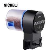 Nicrew sunsun Automatic Feeder Aquarium Goldfish Smart Timing Auto Fish Feeder Timer Food Feeding 8/12/24 hours Timer Feeding