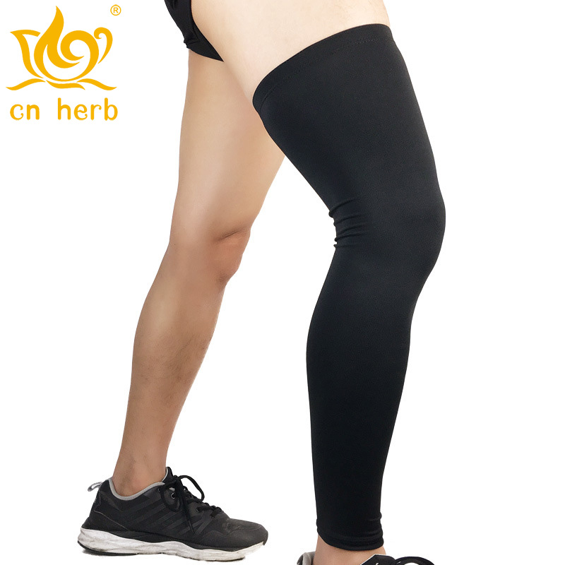 Cn Herb 2 pcs sports protection large and small leg sleeves outdoor basketball football protective clothing in Massage Relaxation from Beauty Health