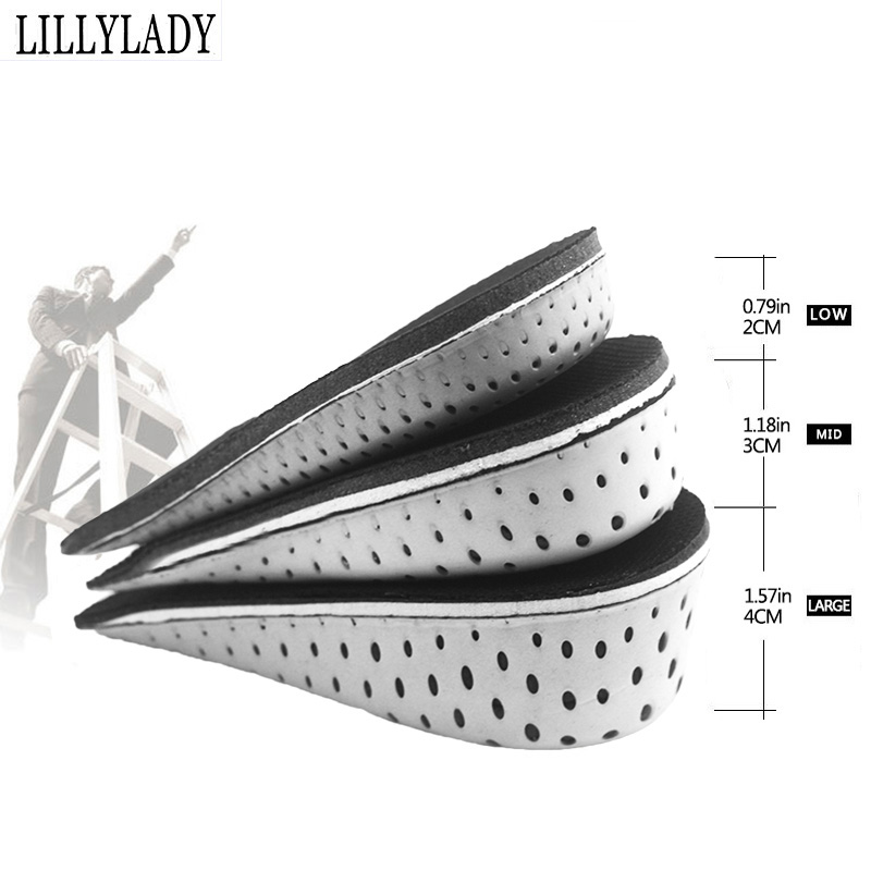 Increase Growth Increase Insoles For Men/women Orthopedic Pad Insoles For Feet Shoes Up Invisiable Arch Support Shoe Root Pad
