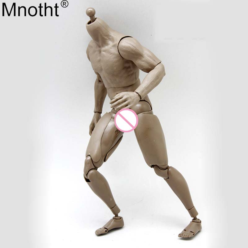 Mnotht 1/6 Scale TTM19 Flexible Muscle Male Body Nude V1-M Soldier Model for 12 Inch Toys Action Figure Collection Me 1 6 scale male action figure model toys super flexible seamless muscle body pl2016 m33 for collections