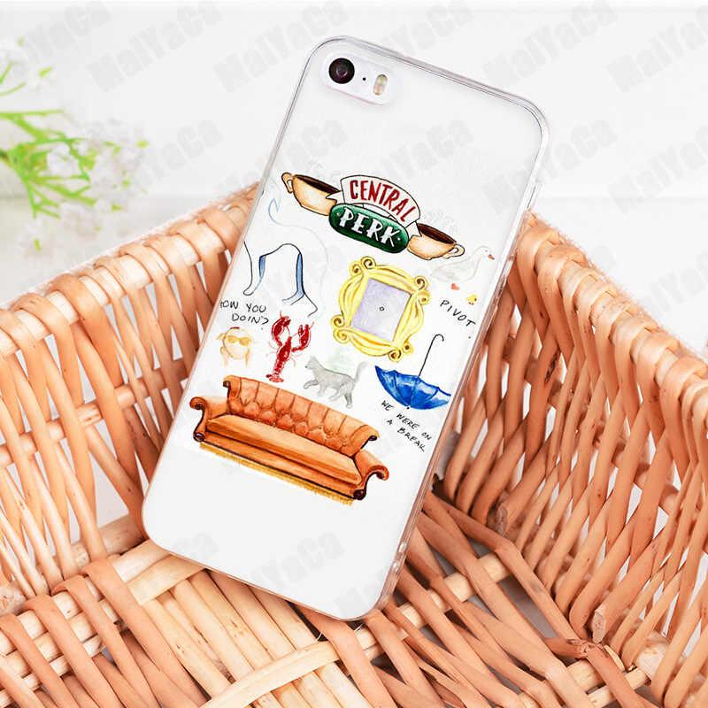 Coque de téléphone MaiYaCa Friends saison TV pour iphone 11 Pro 11 Pro Max 8 7 6 6S Plus X XS XR XSMAX 4S