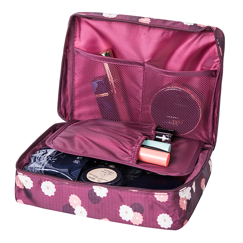 Women's Travel Cosmetic Bags Beautician Vanity