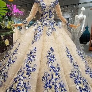 Image 5 - AIJINGYU Wunderschöne Hochzeit Kleider Plus Größe Kleider Neueste Ball 2021 2020 Elegante Kaufen Braut Kleid Hochzeit Kleid Material