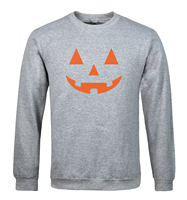 JACK O LANTERN PUMPKIN Halloween Men Sweatshirt Hoodies 2017 Spring Winter New Casual Fleece Loose Fit