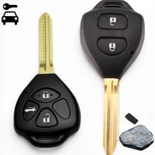 新しい車の警報リモートキー 2 ボタン/3 ボタン 315 と 4D67/4D68/チップのためのトヨタカムリカローラ RAV4 Vios スマートキー