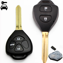 Yeni Araba Alarmı Uzaktan Anahtar 2 Düğmeler/3 Düğmeler ile 315 Mhz 4D67/4D68/G Çip için toyota Camry Corolla RAV4 Reiz Vios akıllı anahtar