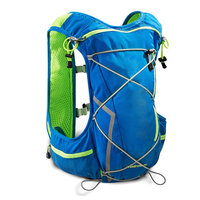 Newly Sport Vest Bag Breathable Big Capacity Backpack Men And Women Marathon Running Bicycling Water Bottle Bags