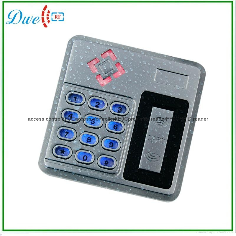 ФОТО 2000 users IP68 access controller, 13.56mhz metal single door standalone access control reader