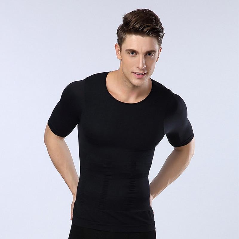 Neoprene Breathable Elastic Slimming Vest Men Tummy Slimming Corset Stomach Slimming Waist Trainer Fat Burning Weight Loss Fast