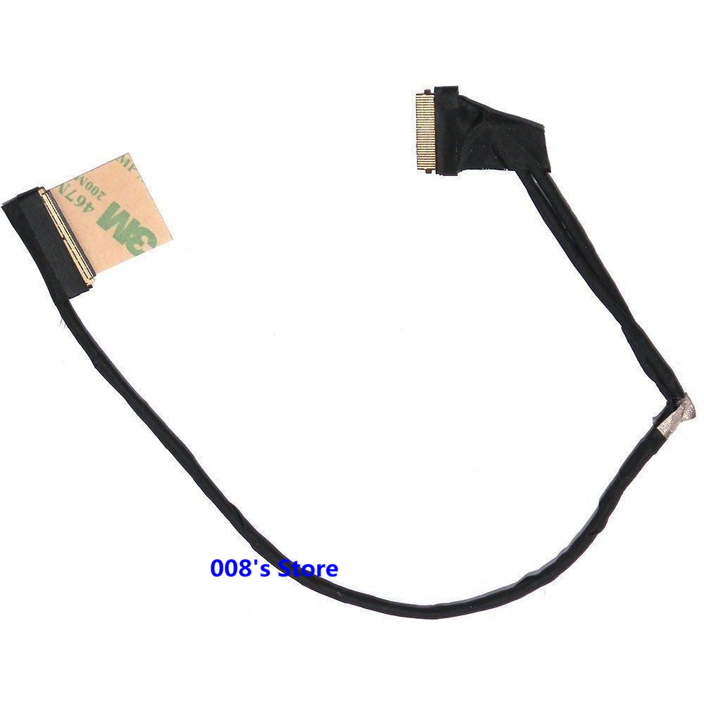 New Laptop <font><b>LCD</b></font> <font><b>Screen</b></font> Cable For Dell INSPIRON 3715 7537 N7537 15 7000 50.47L03.001 LVDS DOH50 DCXMF 0DCXMF <font><b>40</b></font> Pin 15.6