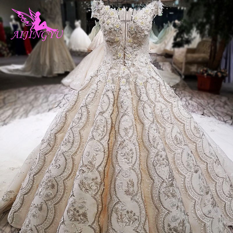 AIJINGYU Suzhou Love Season Wedding Dresses Best Bridals Accessories Gypsy Style Find Me A Gown Austria New Wedding Dress image