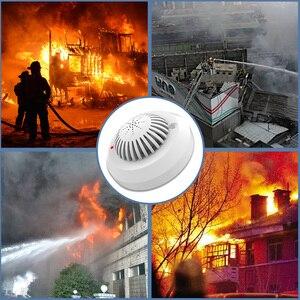 Image 4 - KERUI 5pcs גבוהה רגישות 433MHz SD03 הנחיות קוליות אש גלאי עשן אש אבטחת עשן גלאי מיושם כדי בית מלון חנות