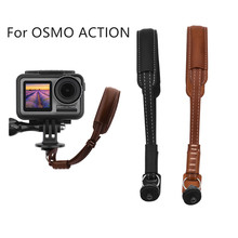 Portable Suitable Charging Safety Leather Wrist Hand Strap Lanyard Belt Grip Sling For DJI OSMO ACTION convenient and practical
