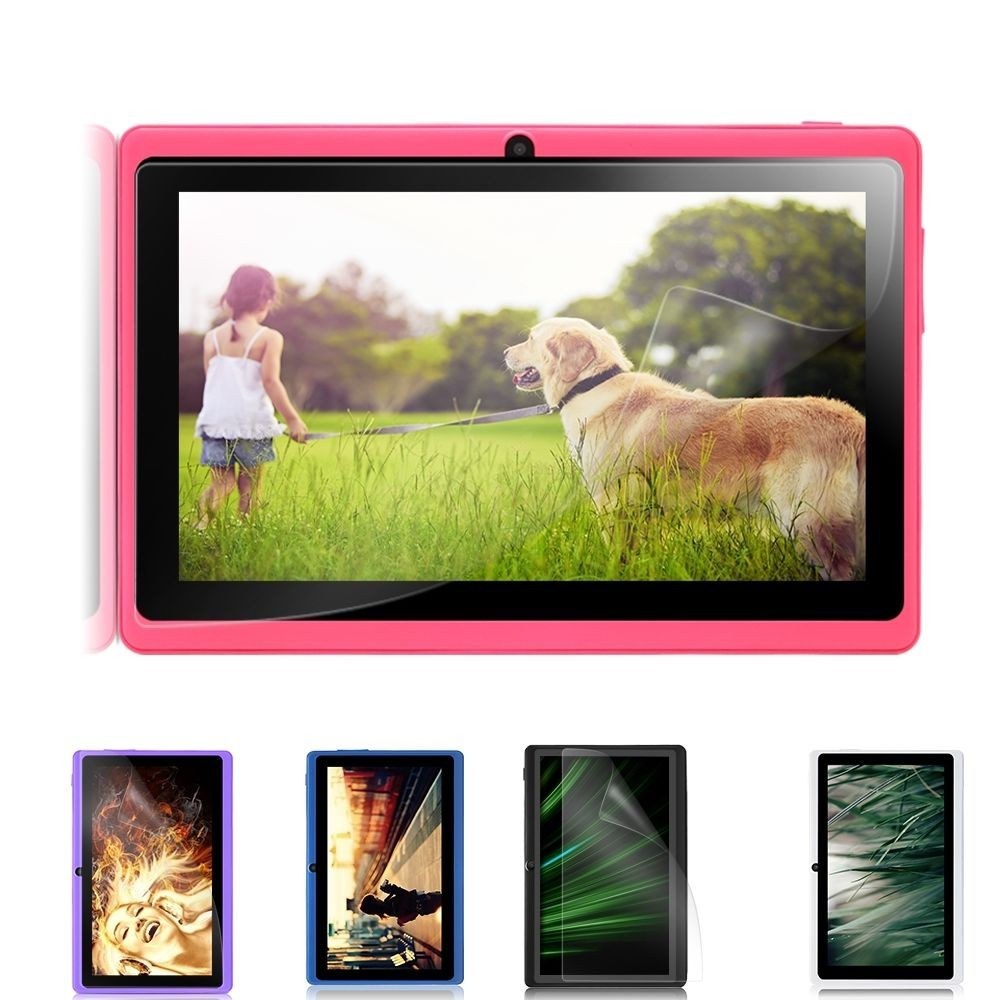 iRULU Tablet X3 7″GMS Certification 1024*600 TFT LCD Screen 1.3GHz Quad Core Dual Camera Android 6.0 ROM 16G Tablet PC Bluetooth
