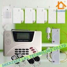 Английский Голос Беспроводной GSM PSTN Двойного Домашняя Сигнализация 900/1800/1900 МГц