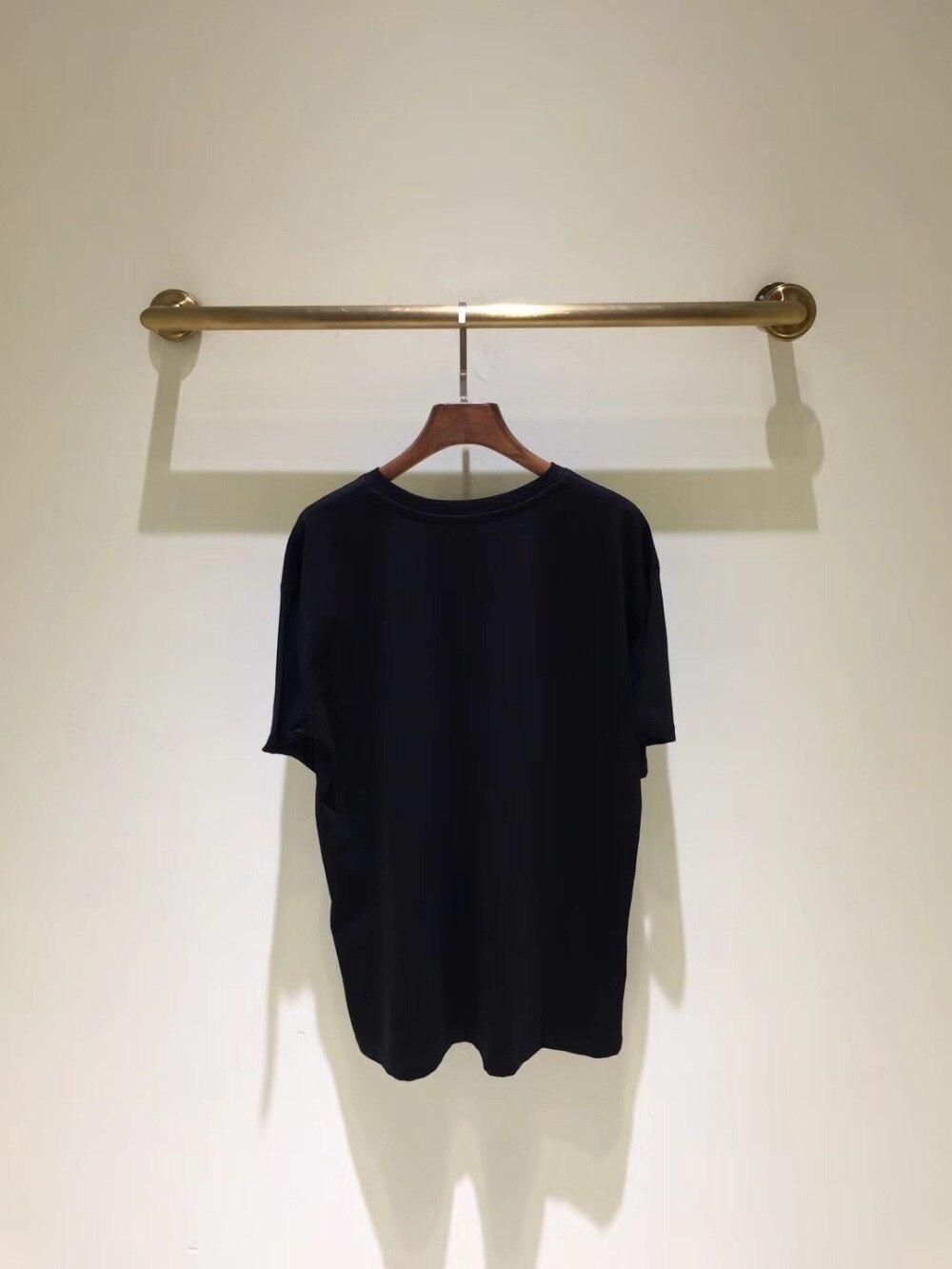 Design Pista Da Camicette Stile Modo Partito Donne T Abbigliamento Europeo 2019 Di D02388 Donna Marca Del shirt Magliette Lusso Famoso Delle E q470U