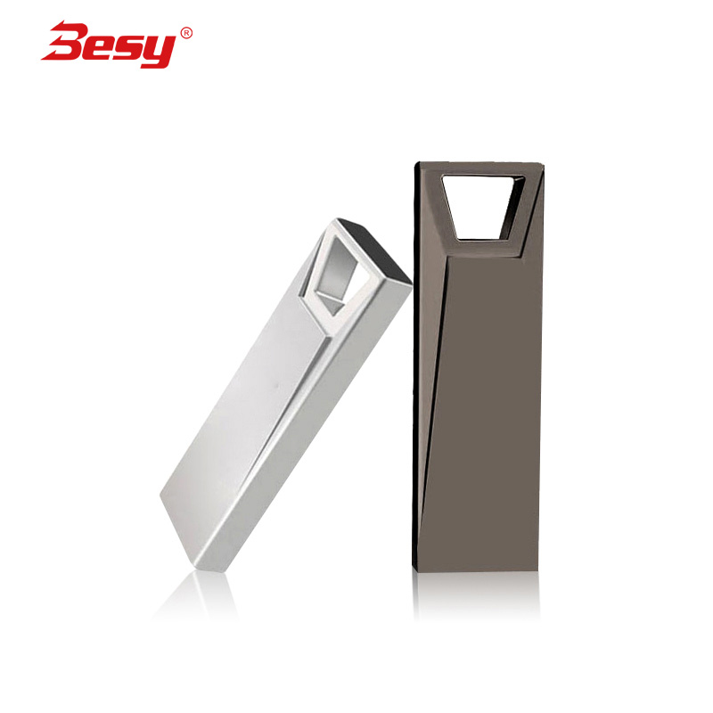 USB Flash Drive Metal Mini Key USB Stick 8GB 16GB 32GB 64gb 128gb Memory Storage Stick USB Pendrive Flash Pen Drive Memory(China)