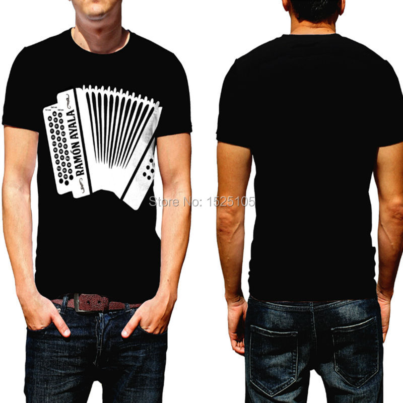 66baeac1b23 Amazing Playable Music Electronic accordion T Shirt playable accordion T- shirt Free Shipping