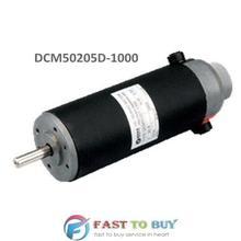 Leadshine Матовый DC Серводвигатель DCM50205D-1000 24VDC 80 Вт 3400 об/мин дифференциальный 1000-линейный энкодер винтовой монтаж