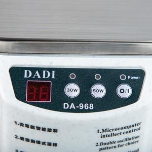Image 5 - 600 ミリリットル超音波クリーナージュエリーメガネ回路基板洗浄機インテリジェント制御超音波洗浄超音波浴