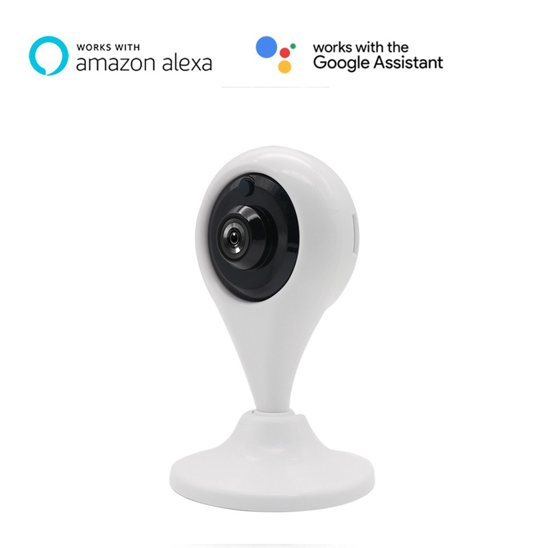 Smart Home Security Camera 1080P Wifi IP Camera Support Amazon Alexa &  Google Home Surveillance System With Two Way Audio Alarm