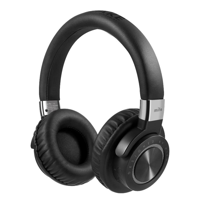 Latest Mifo F2 Stereo Headphone Wireless Wired Bluetooth 4 1 Bass Earphone Headband HIFI Headphones For