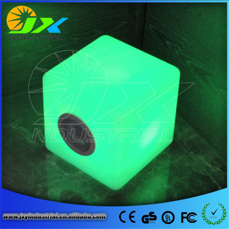 30cm led cube chair/Free Shipping led illuminated furniture,waterproof outdoor led cube 30*30CM chair,bar stools, LED Seat