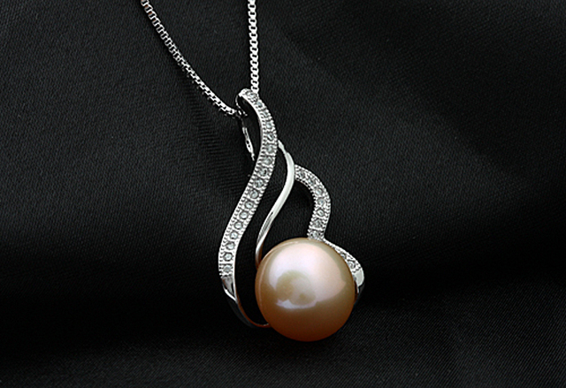 [MeiBaPJ] 925 sterling silver 6 items sets 100% real natural pearl jewelry set for women top quality white color gift box