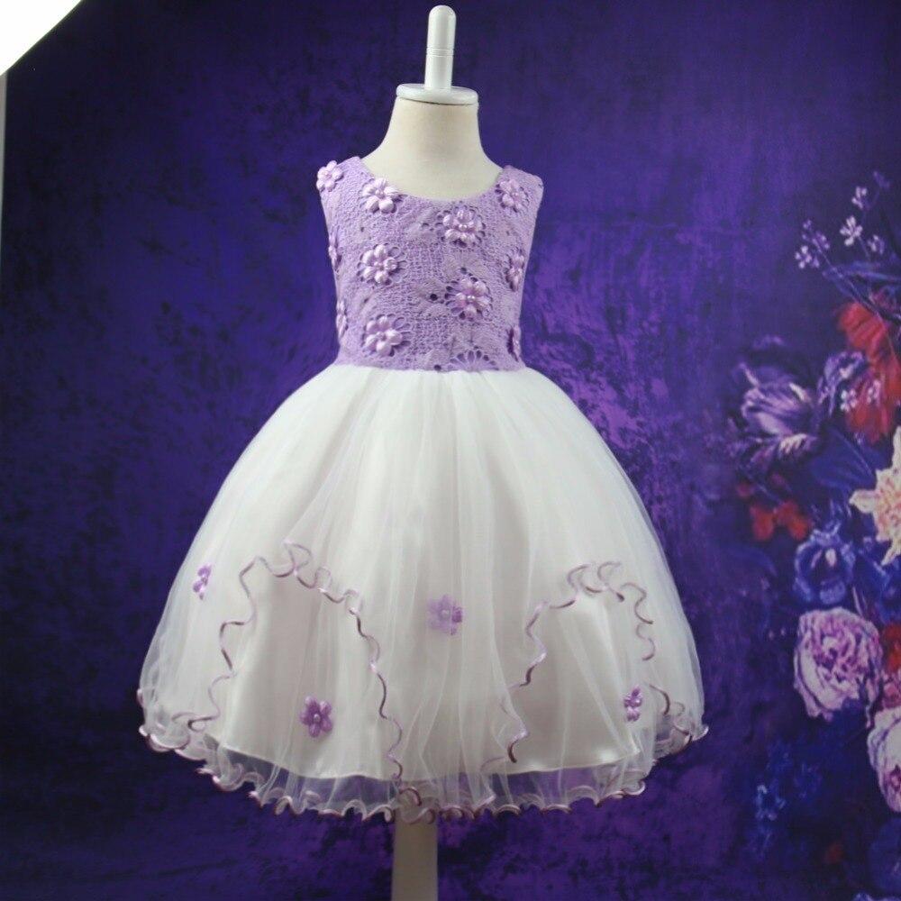 Girls Dresses for Party Children Wedding 2017 Brand Summer Dress Princess Costume Flowers Kids Dress for Girls