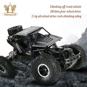 Image 4 - סורקי רוק נהיגה מכונית שלט רחוק מחוץ לכביש צעצועי 4WD על רדיו מבוקר 4x4 כונן חשמלי RC מכוניות קיץ נופש