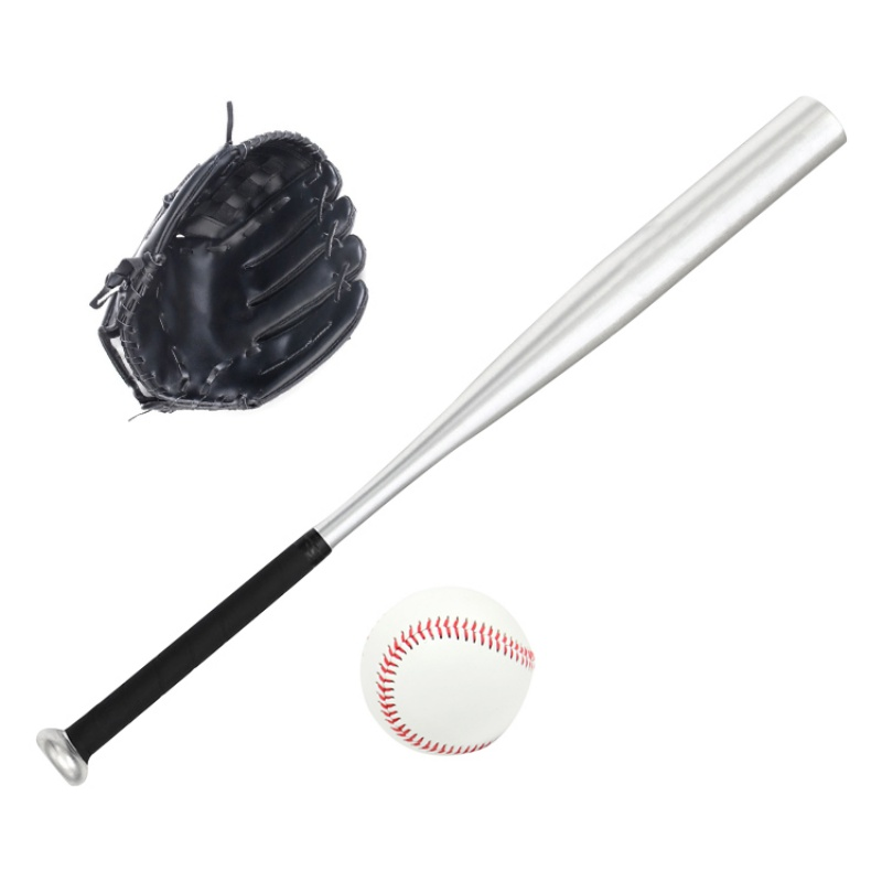 61cm Sport Soft Baseball Bat/glove/ball Set For Kids Softball Glove For Children Educational Sports Crazy Price