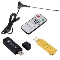 hdtv דיגיטלי Universial דיגיטלי USB2.0 HDTV טלוויזיה FM + DAB DVB-T RTL2832U + FC0012 תמיכה SDR טיונר המקלט Stick (2)