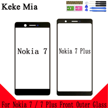 Keke Mia For Nokia N7 / Plus Touch Screen Digitizer 7 Panel Touchscreen Sensor Front Glass