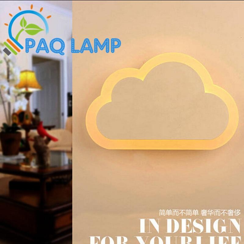ФОТО Acrylic engraving wall lamp cloud LED Aisle Lamp corridor lights AC 90-260V 8/12W power LED indoor lighting