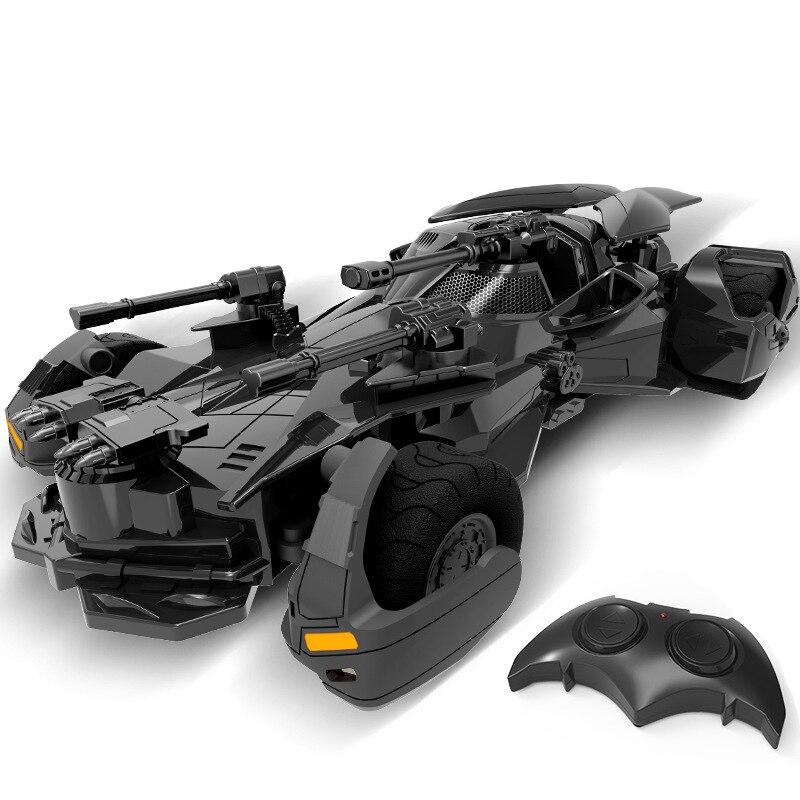 1:18 Batman vs Superman Justice League electric Batman RC car childrens toy model Gift simulation display Batmobile 1 18 scale 1995 batman forever batmobile by hot wheels