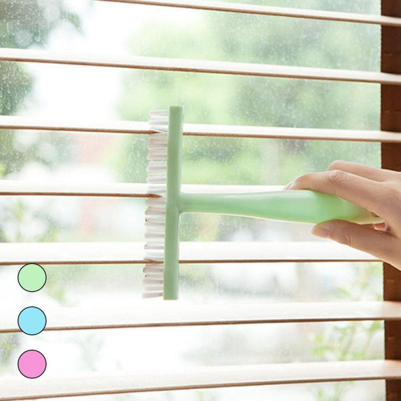 Mini Blind Cleaner Air Conditioner Duster Dirt Cleaner Brush Housework Tool Plastic Windows Awnings Cleaning Shutter