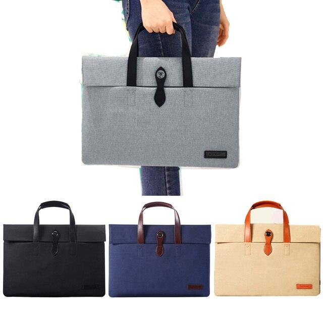 Nova bolsa para laptop case laptop sleeve para macbook air pro saco bolsa para lenovo dell asus 11 12 13 14 15 15.6 polegada para o saco dos homens mulher