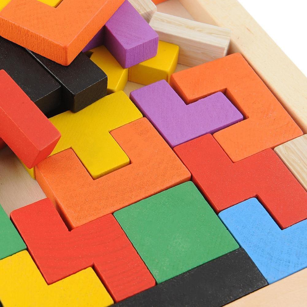 Math Geometry Puzzle Brinquedo Jigsaw Board Балалар - Ойындар мен басқатырғыштар - фото 6