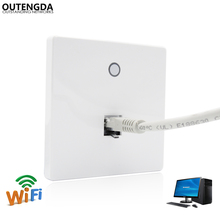 Standard 11ac 750Mbps Embedded POE Wireless Wifi Access Point Panel In Wall Mount AP Router цена 2017