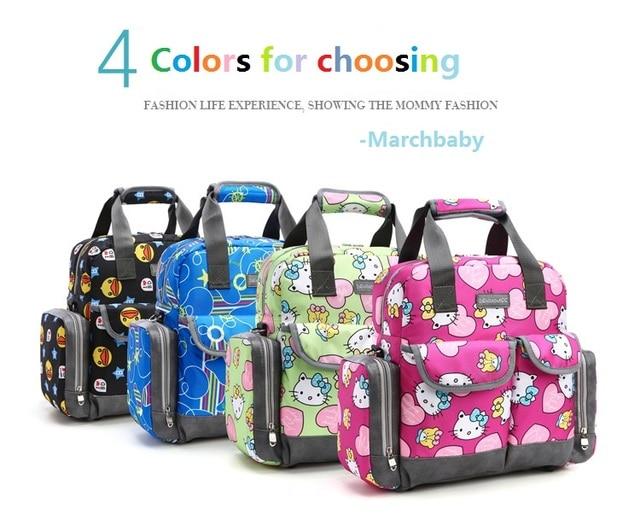 New Large Capacity Multifunctional Mommy Bag Baby O Kitty Backpack Ny