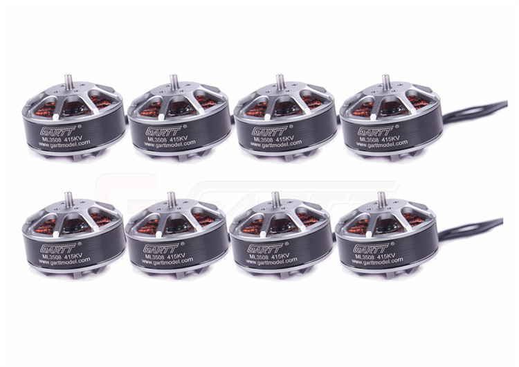 8 X GARTT ML 3508 415KV 3508 Brushless Motor For Multirotor Quadcopter Hexa Drone