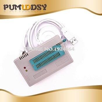 1pcs V7.05 TL866II Plus BIOS USB Universal Programmer ICSP Nand FLASH EEPROM 1.8V 24 93 25 better than TL866A TL866CS